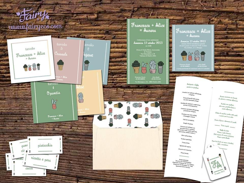 Matrimonio Tema Ecologico : Matrimonio ecologico partecipazione ecologica fairy eco