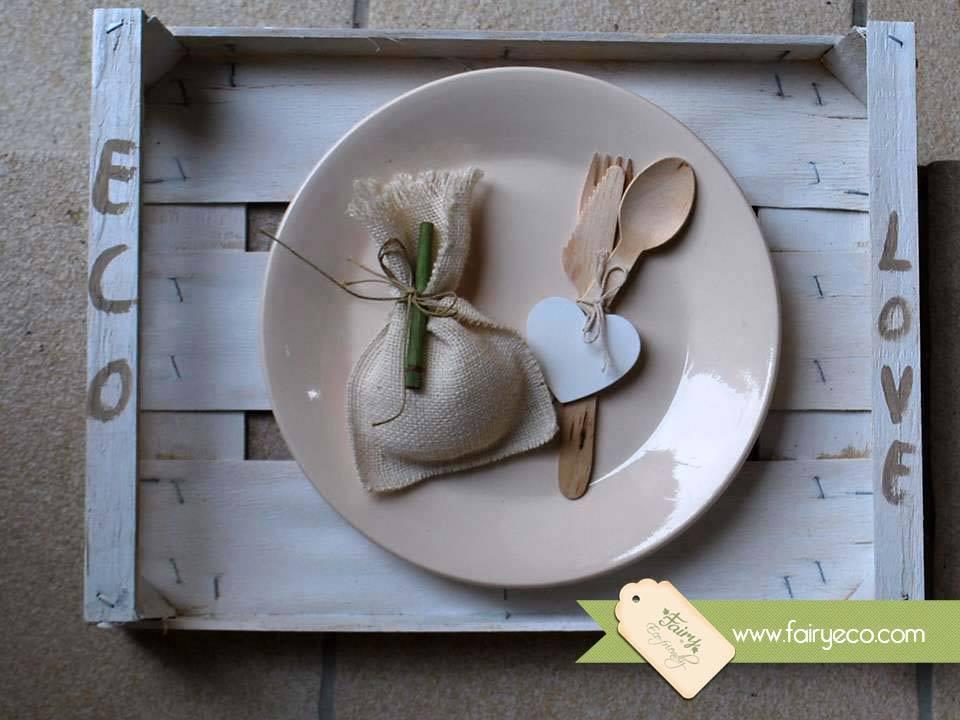 Famoso Bomboniere Ecologiche in juta | Fairy Eco Ideazione e  TT91