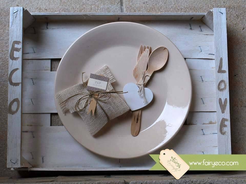 Amato Bomboniere Ecologiche in juta | Fairy Eco Ideazione e  HO44